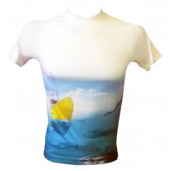 Fishing tuna stretch coolmax t-shirt