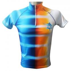 Blue marlin stretch coolmax t-shirt