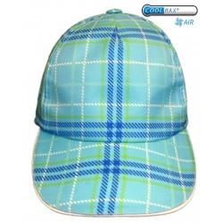 XSURVIVE® COOLMAX AIR® BLUE SQUARE BASEBALL TRUCKER HAT